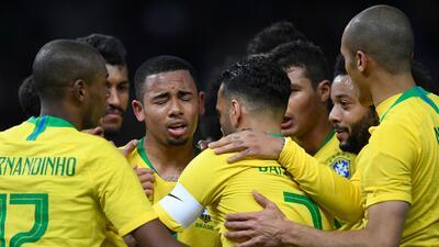 En fotos: Brasil venció 1-0 a Alemania y deja un mensaje claro previo al Mundial de Rusia