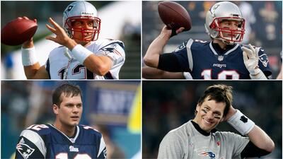 Así ha sido la evolución física de Tom Brady desde...