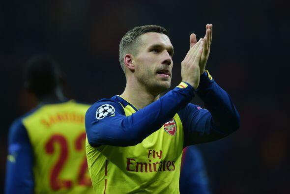 Lucas Podolski: Un atacante de gran clase que no es titular con el Arsen...