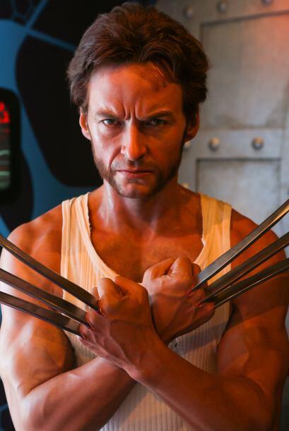 La figura de Wolverine se ve tan real que da miedo.
