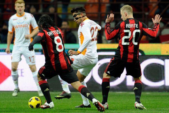 A partir de allí el cuadro del Milan salió desesperado a buscar el empat...