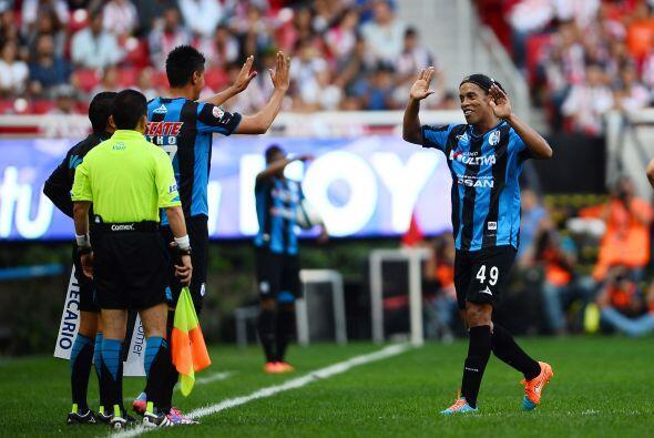 Hasta el momento Ronaldinho ha convencido y callado las críticas,...