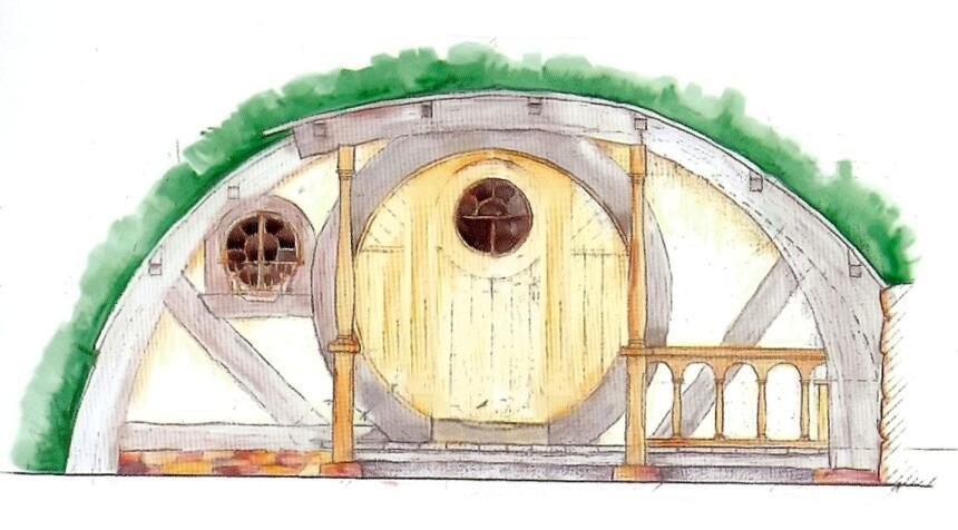 Reconstruyen madriguera de los hobbits univision - La casa de los hobbits ...