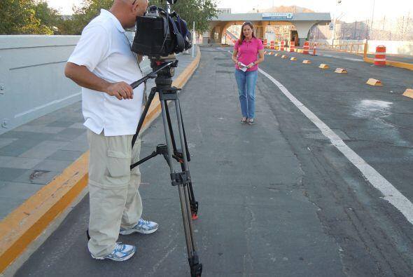 El cruce entre El Paso y Ciudad Juárez se ha convertido en el cam...