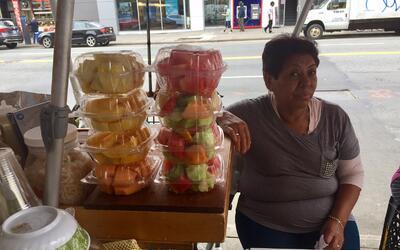 Hortensia Soriano Marín espera noticias de sus hermanos en Morelo...