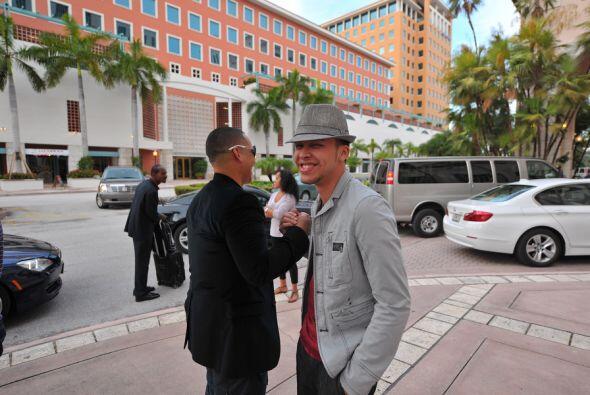 Yankee y Royce interpretan juntos la canción 'Ven conmigo', misma que pr...