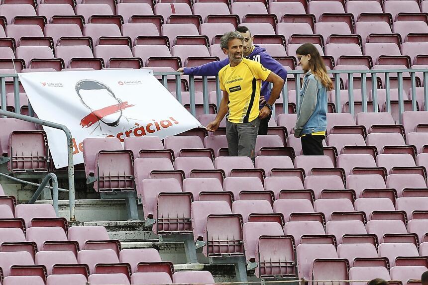 El Barça goleó a Las Palmas, en un Camp Nou sin público 6364247776753331...