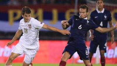 Serbia vs Francia