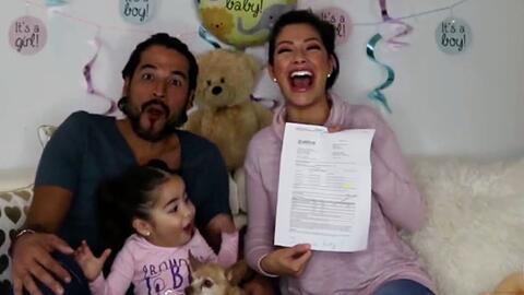 Ana Patricia reveló el sexo de su bebé