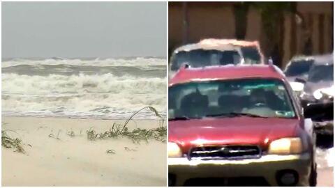 La tormenta tropical 'Cindy' y la ola de calor extremo dejan al menos un...