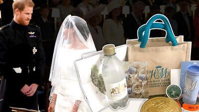Ya sabemos qué tesoros guarda el 'goody bag' que regalaron Harry y Meghan en su boda