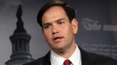 Marco Rubio, el senador por Florida.