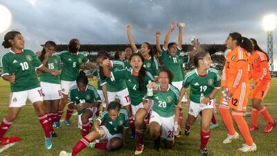 El Tri Femenil Sub - 17 clasificó al Mundial de Costa Rica 2014