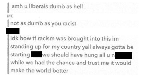 Este es el supuesto insulto racial que estudiante negra, de una escuela...