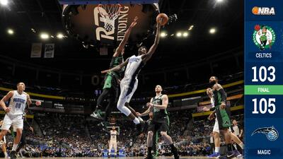 Al Horford y los Celtics caen ante el Orlando Magic