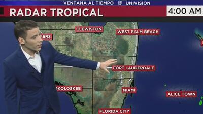 Viernes ventoso, con cielos nublados y descensos en las temperaturas para el sur de Florida