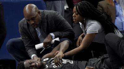 Así fue la horrorosa lesión de Caris LeVert de los Brooklyn Nets en juego ante Minnesota