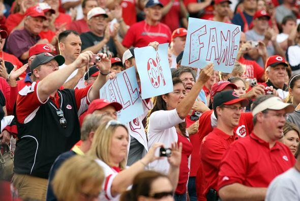 Los Reds de Cincinnati celebraron el 25 aniversario del récord impuesto...