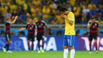 El delantero brasileño señaló qeu él dio todo por la seleccón.