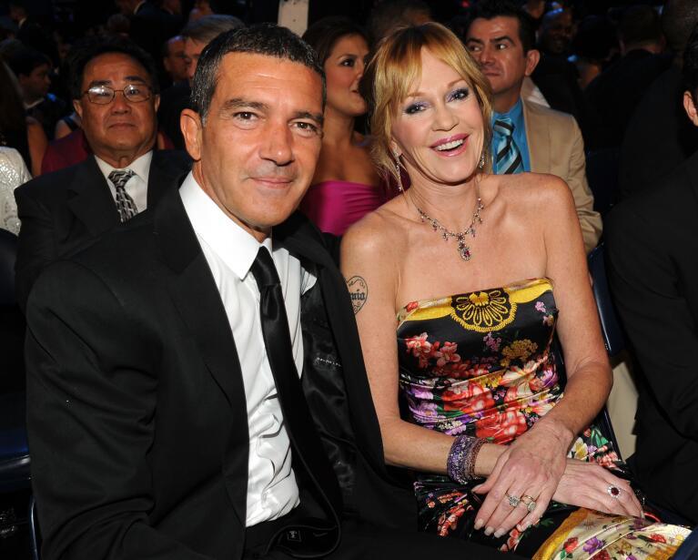 Así fue el matrimonio de Antonio Banderas y Melanie Griffith