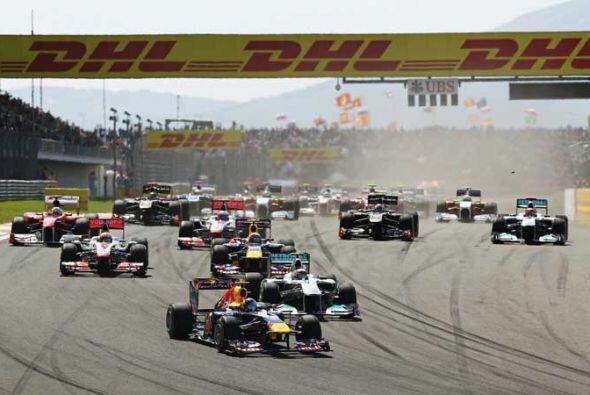 El campeón vigente nunca se vio en apuros en el circuito de Estambul tra...