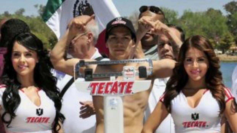 'Tyson' dio el peso contra Mayol (Foto: Zanfer)