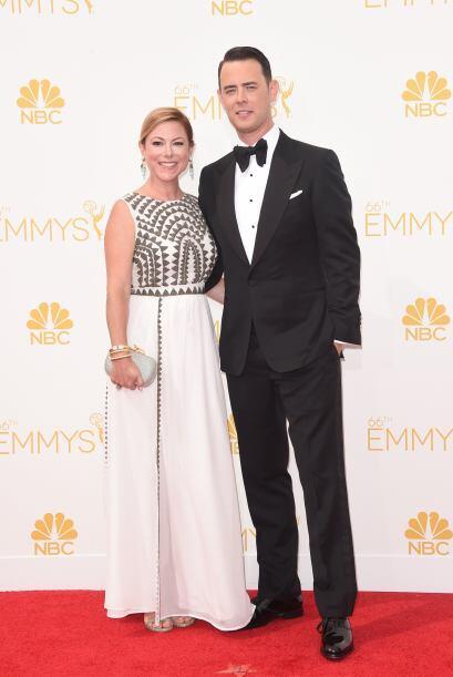 Colin Hanks y Samantha Bryant, una de las parejas más bellas.