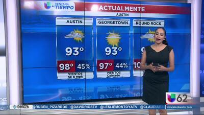 Temperaturas sumamente cálidas en los próximos días