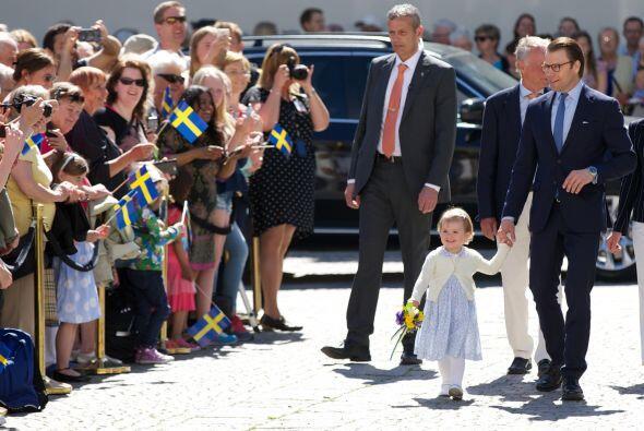 Y es que esta pequeña, a sus dos años, inauguró un...