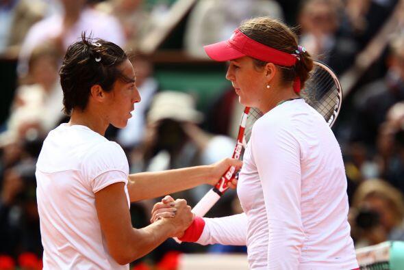 Schiavone venció por 1-6, 7-5 y 7-5 a la favorita número 14, la rusa Ana...