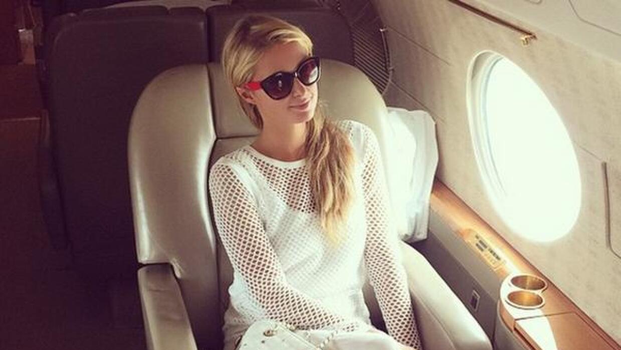 Paris Hilton teme volar luego de la pesada broma.