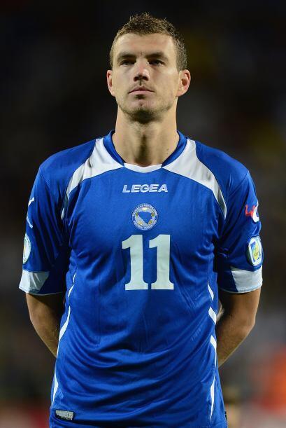 Edin Dzeko es originario de Bosnia.  Mira aquí todo sobre el Mundial