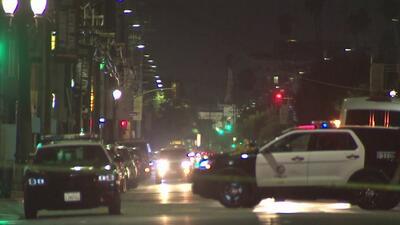 Autoridades investigan tiroteo registrado en plena calle de Los Ángeles y que dejó una persona herida