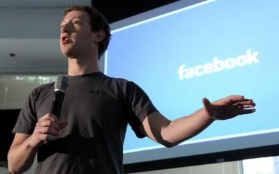 El fundador de la red social Facebook, Mark Zuckerberg.