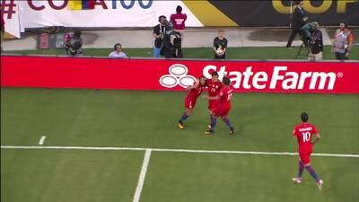 Los 2 goles que llevaron a Chile a la gran final con el 'Spider Cam'