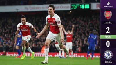 Arsenal vuelve al triunfo y se queda el Gran Derbi de Londres