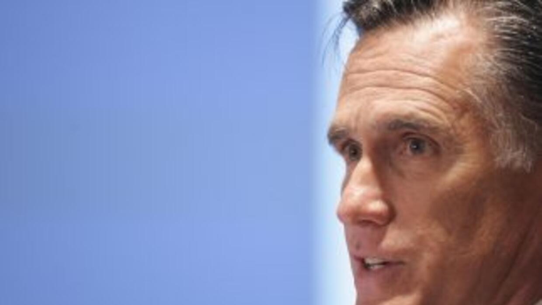 Mitt Romney es uno de los republicanos con aspiraciones de darle batalla...