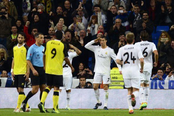 Cristiano ponía el 3-0 por la vía del penalti y de inmediato le mandaba...