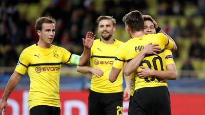 En fotos: Borussia Dormund despide con derrota a un Mónaco decepcionante en Champions