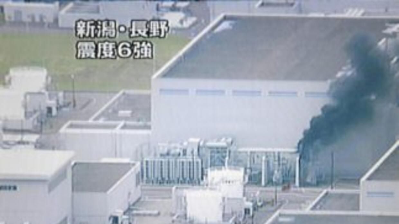 Un nuevo incendio se declaró en el reactor 4 de la central nuclear de Fu...