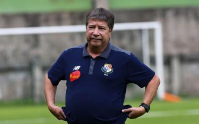 Hernán Darío Gómez, director técnico de Pana...
