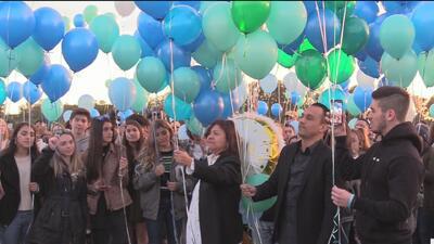 Amigos y seres queridos rinden honor a Alexa Montes, víctima de asesinato