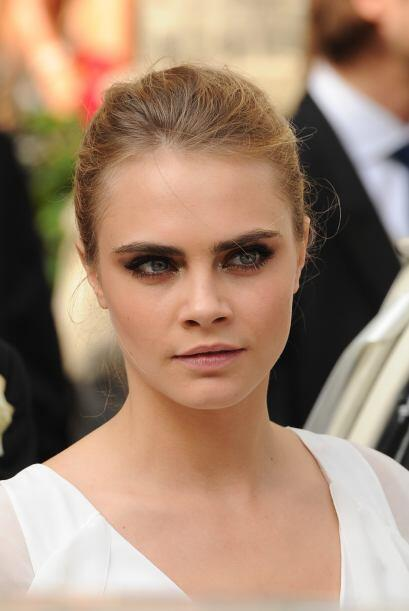 su rostro impecable, hay que decirlo, tiene mucho que ver con ese efecto...