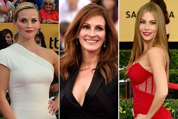 Mira qué celebridades se lucieron con sus modelitos este año en los prem...