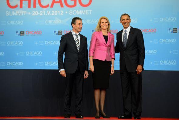 Líderes mundiales se reunieron en Chicago para la cumbre de la OTAN.