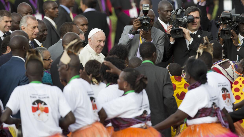 El Papa Francisco en Kenia