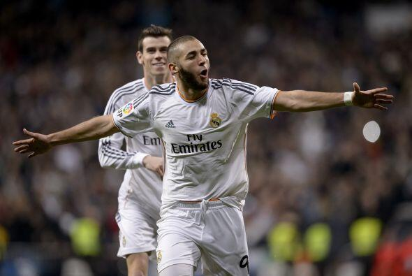 Tuvo que aparecer el francés Karim Benzema para firmar el 1-0.