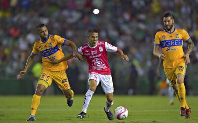 León recibe a Tigres en el partido de ida de la ligulla