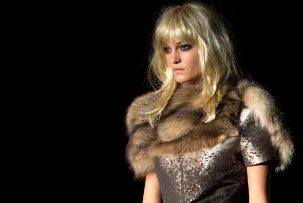 Las pieles fueron uno de los elementos que dotaron de mucho glamour y el...