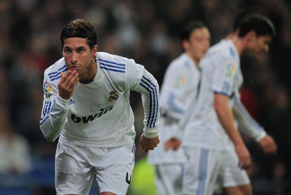 Sergio Ramos puso las cosas 1-1.